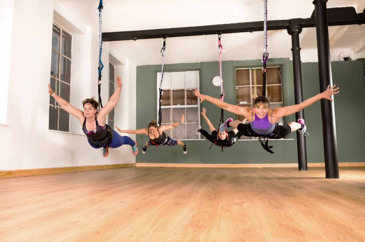 Bungee Exercise Class - ExerciseWalls